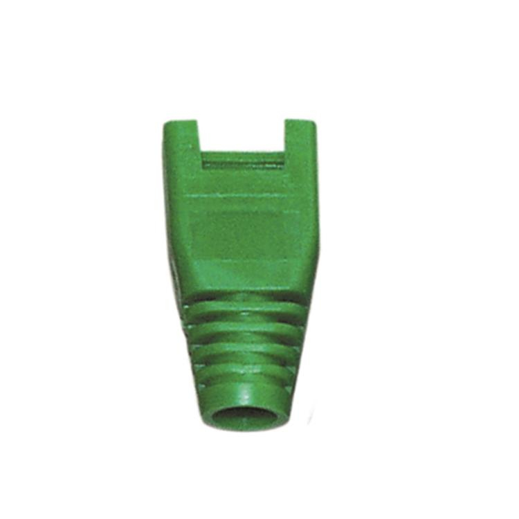 30.09.9005 ROLINE Boot RJ45 Plug. OD6.0mm. Green. 10pcs. Factory Sealed