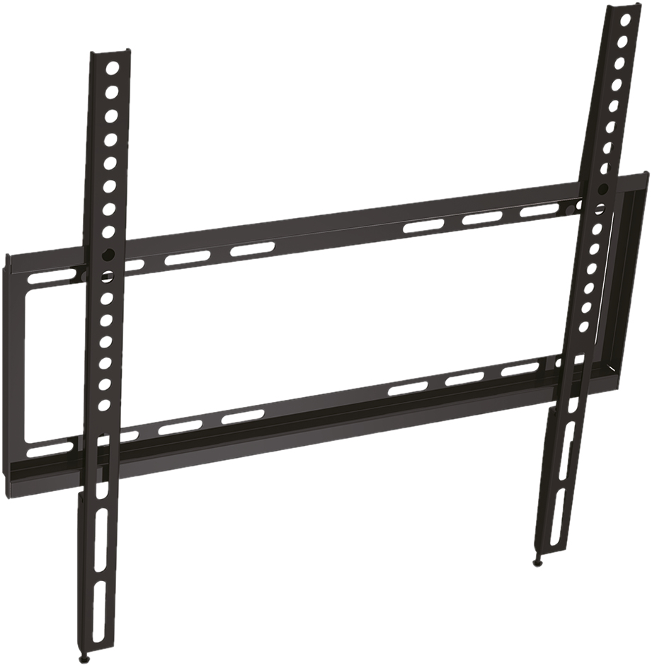 17.99.1202 VALUE LCD/Plasma TV Wall Holder. Low Profile Black Factory Sealed