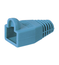 11219 Goobay Boot RJ45 Plug. OD6.5mm. Blue. 10pcs Factory Sealed