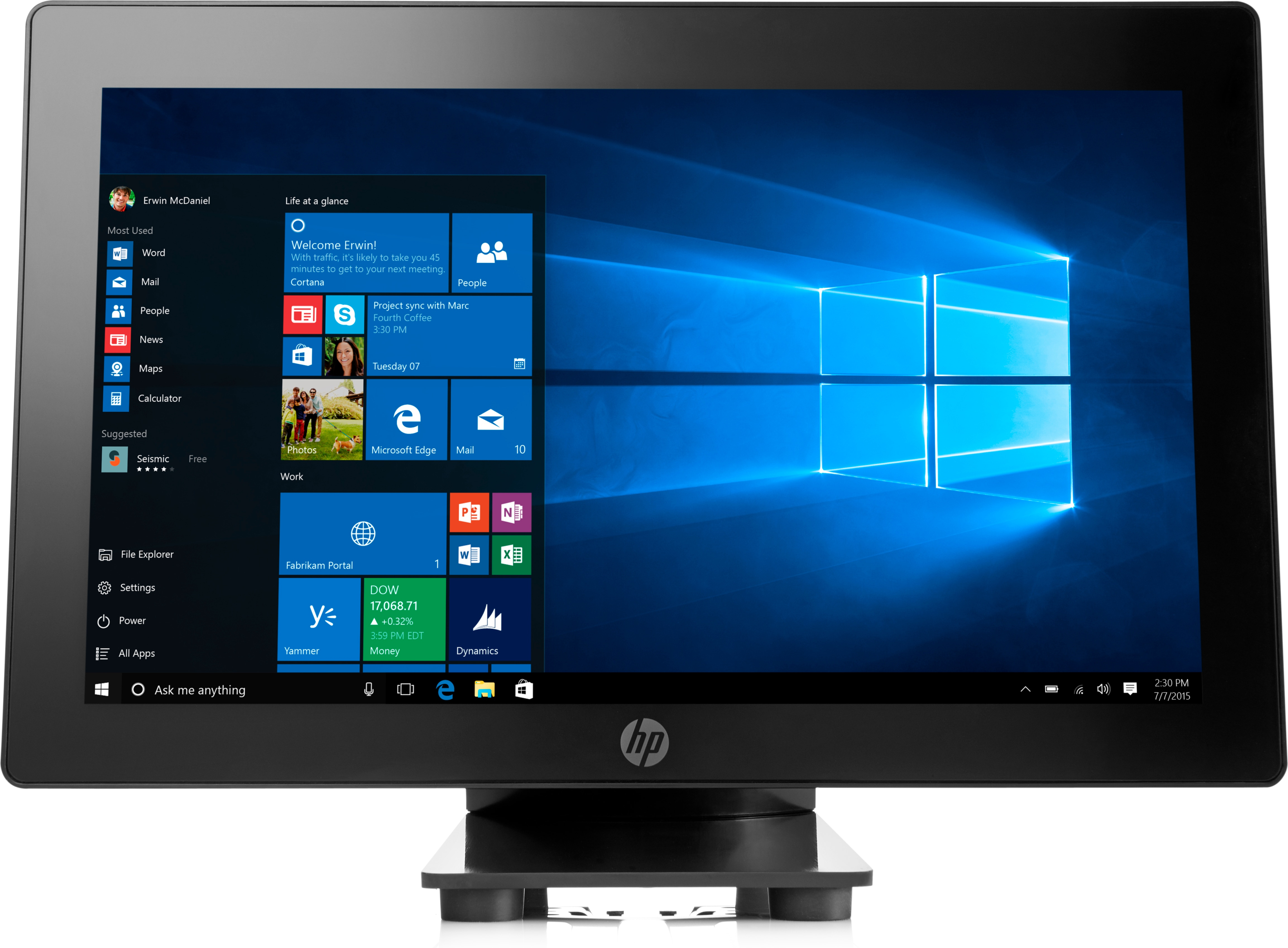 Hp Rp915g1at Pos I36100 4gb/512gb 4wa47ea#abu - WC01
