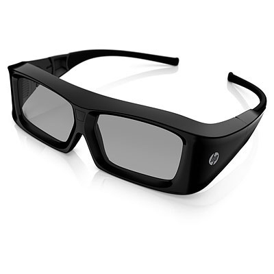 HP 3D Active Shutter Glasses **New Retail** XC554AA - eet01