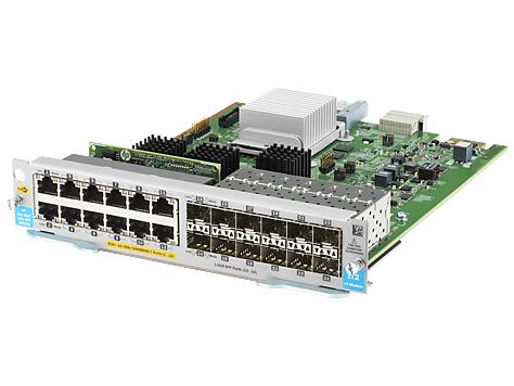Hewlett Packard Enterprise Hpe - Expansion Module - Gigabit Ethernet (poe+) X 12 + Gigabit Sfp X 12 - For Hpe Aruba 5406r  5406r 16  5406r 44  5406r 8-port  5406r Zl2  5412r  5412r 92  5412r Zl2 J9989a - xep01