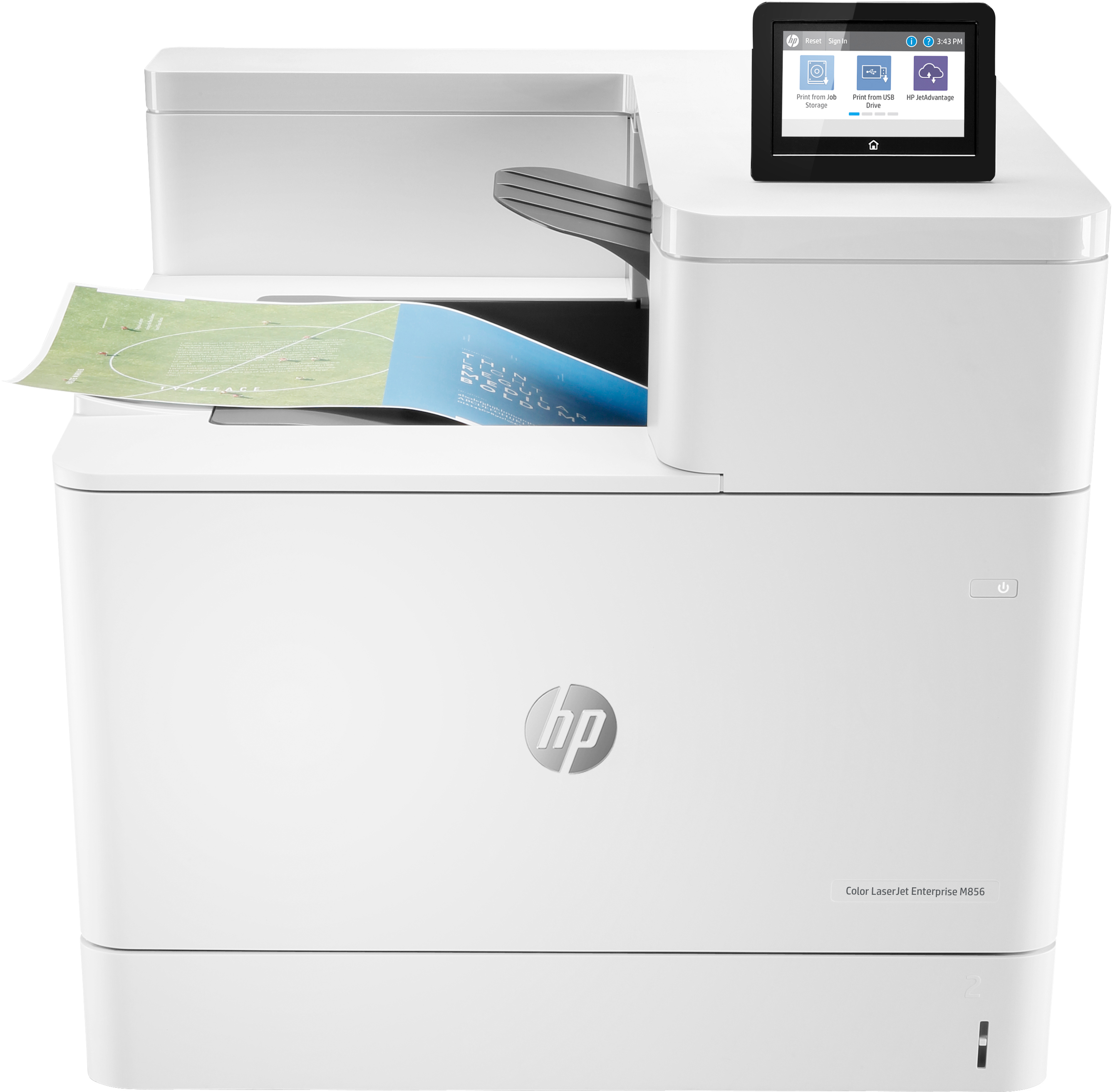 Hp Color Laserjet Ent M856dn Prntr T3u51a#b19 - WC01