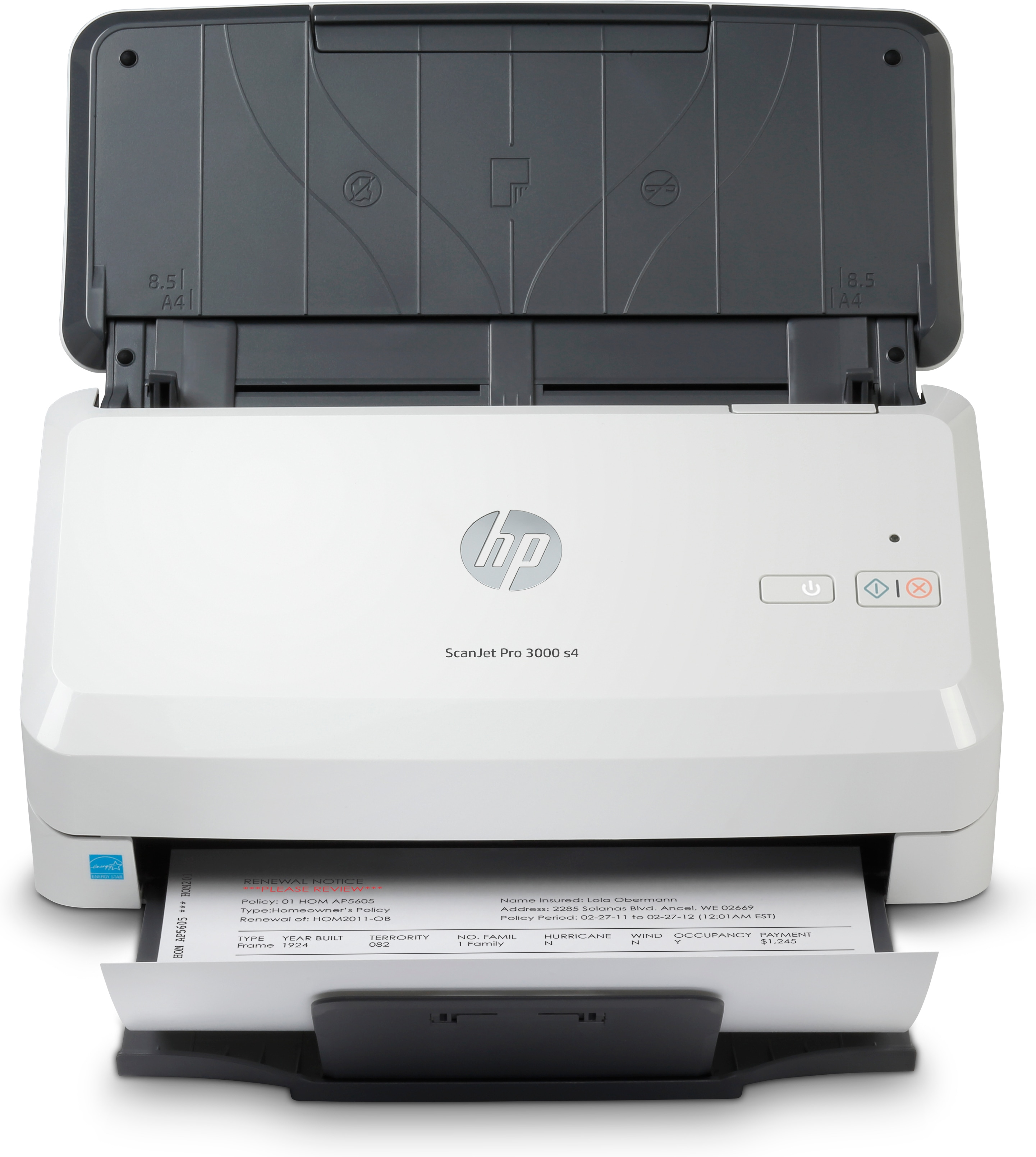 Hp - Ops Scanners (4x)           Scanjet Pro 3000 S4 Usb 3.0         A4 Sheet-feed 600dpi 24bit       In 6fw07a#b19
