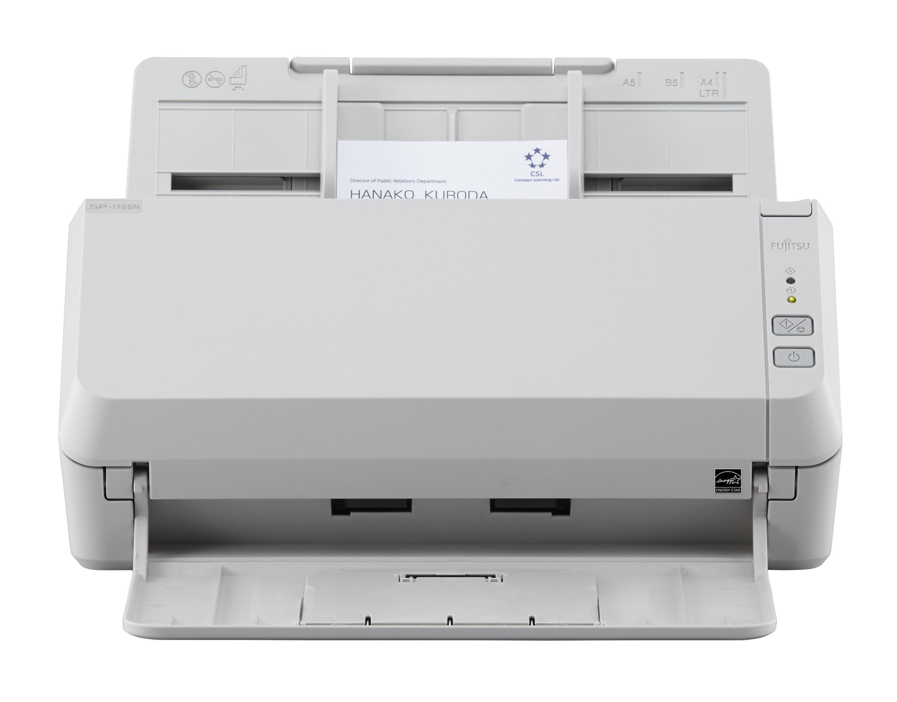 fujitsu SP-1125N A4 Duplex ADF Office Scanner PA03811-B011 - MW01