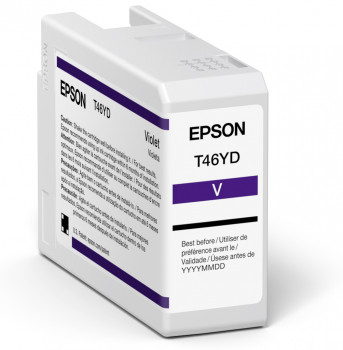 epson Epson Violet T47ad Pro10 Ink Cart 50ml C13t47ad00 - AD01