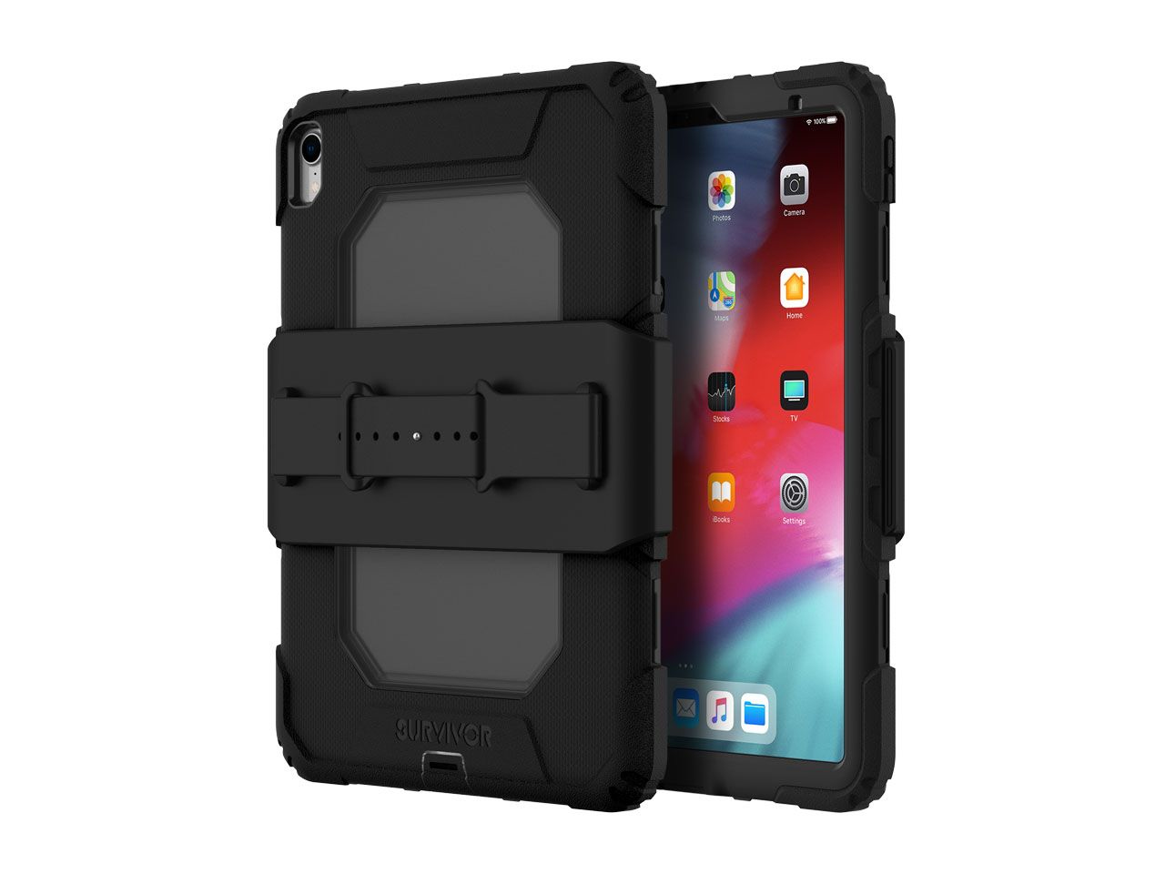 Griffin Survivor All-Terrain - Protective Case For Tablet - Rugged - Black - For Apple 11-inch IPad Pro (1st Generation) GIPD-002-BLK - C2000