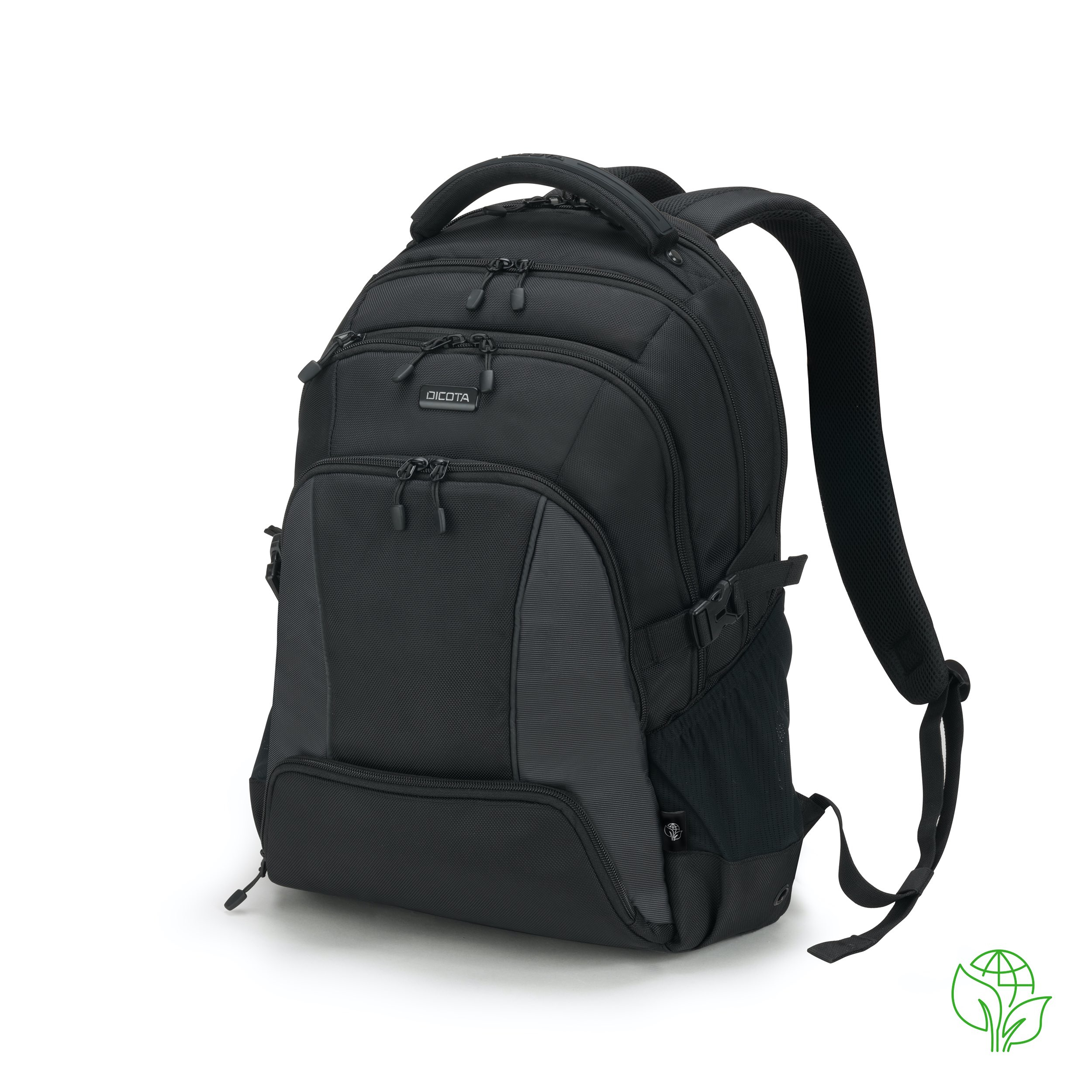 Dicota - Consignment             Eco Backpack Seeker 15-17.3         Black                               D31814