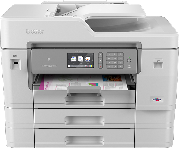 Brother - Multifunction Colour I Mfc-j6947dw 4800 X 1200             22ppm 512mb Prnt/cpy/scn/fx         Mfcj6947dwzu1