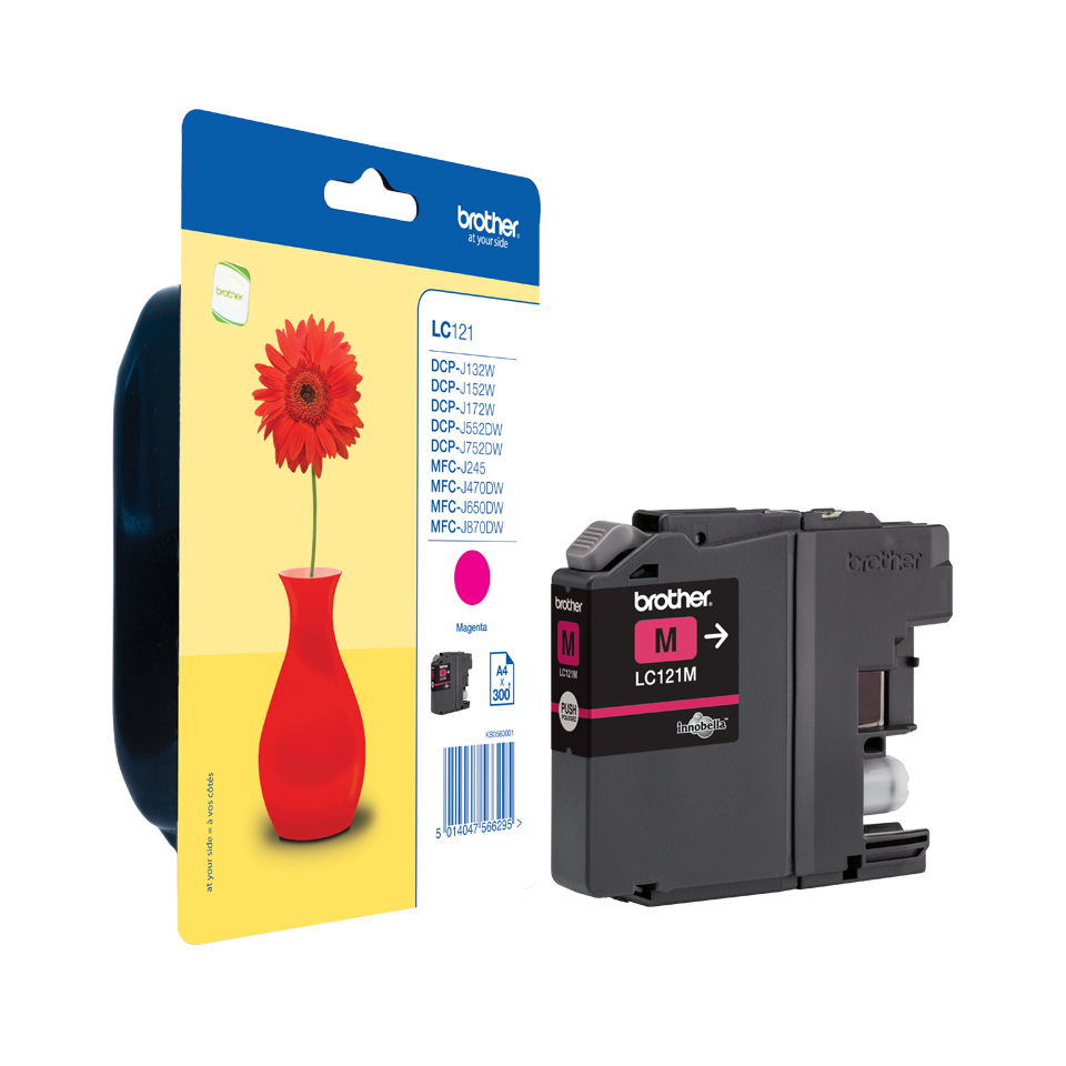 Lc121m brother Brother Lc121 Standard Magenta Ink - AD01