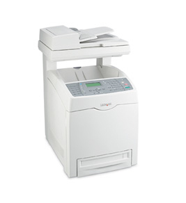 Lexmark X560n A4 Colour Multifunction Network Laser Printer 14A1040 - Refurbished