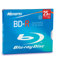 Mem32025511    Memorex Bd-dvd-r 25gb          Eol Once Stock Goes                                          - UF01