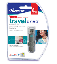 Mem331044      Memorex Traveldrive 4gb Strap  Mrx Usb Travel Drive                                         - UF01