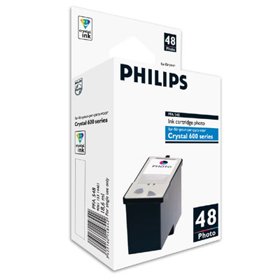 Phipfa548      Philips Pfa548 Photo Ink Hc    For Crystal 650/660/665                                      - UF01