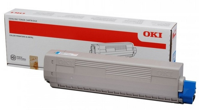 44059255 oki Mc861 Cyan High Cap Toner 10k - AD01