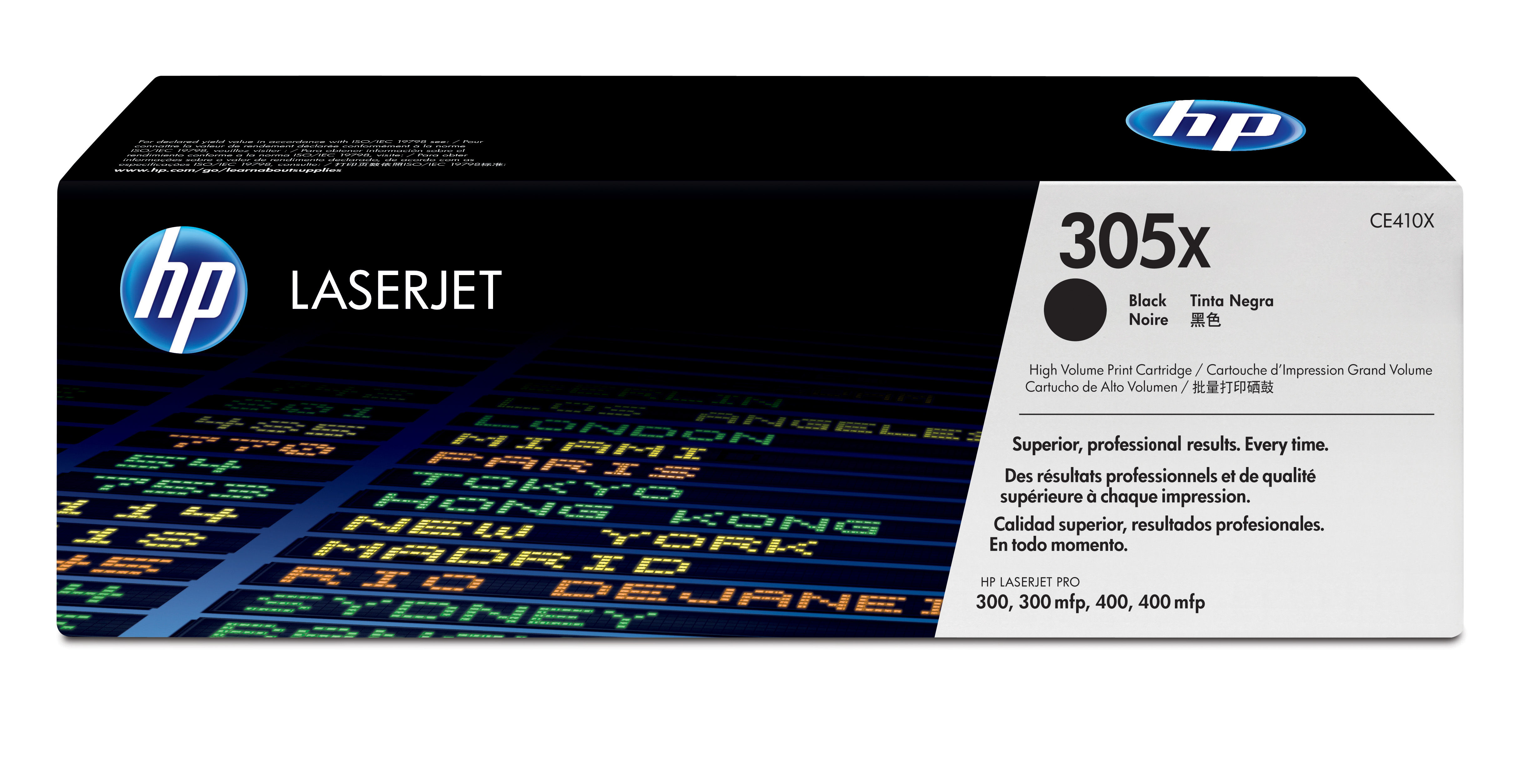 Ce410x HP Hp 305x Black Toner 4000 Pages - AD01