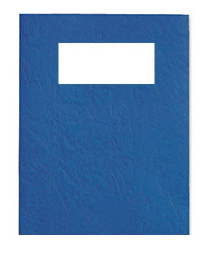 46735e acco Gbc Leathergrain Covers Win 250gsm Blue A4 46735e (pk50) - AD01