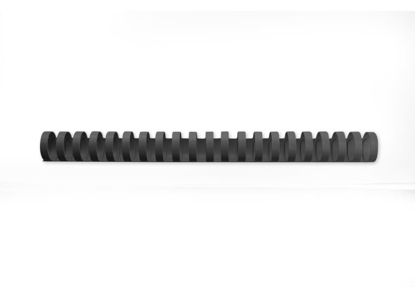 4028183 acco Gbc Binding Combs 21 Ring A4 28mm Black 4028183 (pk50) - AD01