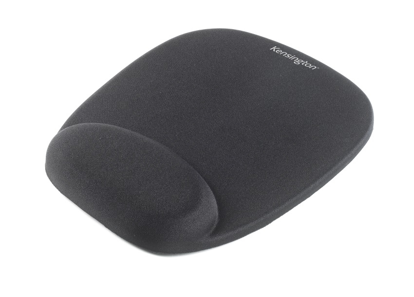 62384 acco Kensington Mouse Pad With Wrist Rest Foam Black 62384 - AD01