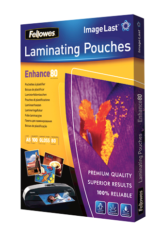 5306002 fellowes Fellowes Laminating Pouch A5 2x80 Micron 5306002 (pk100) - AD01