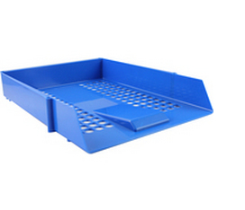 Cp043ytblu deflecto Value Deflecto Letter Tray Blue Cp043ytblu - AD01