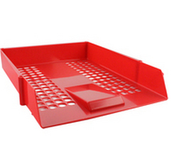 Cp043ytred deflecto Value Deflecto Letter Tray Red Cp043ytred - AD01