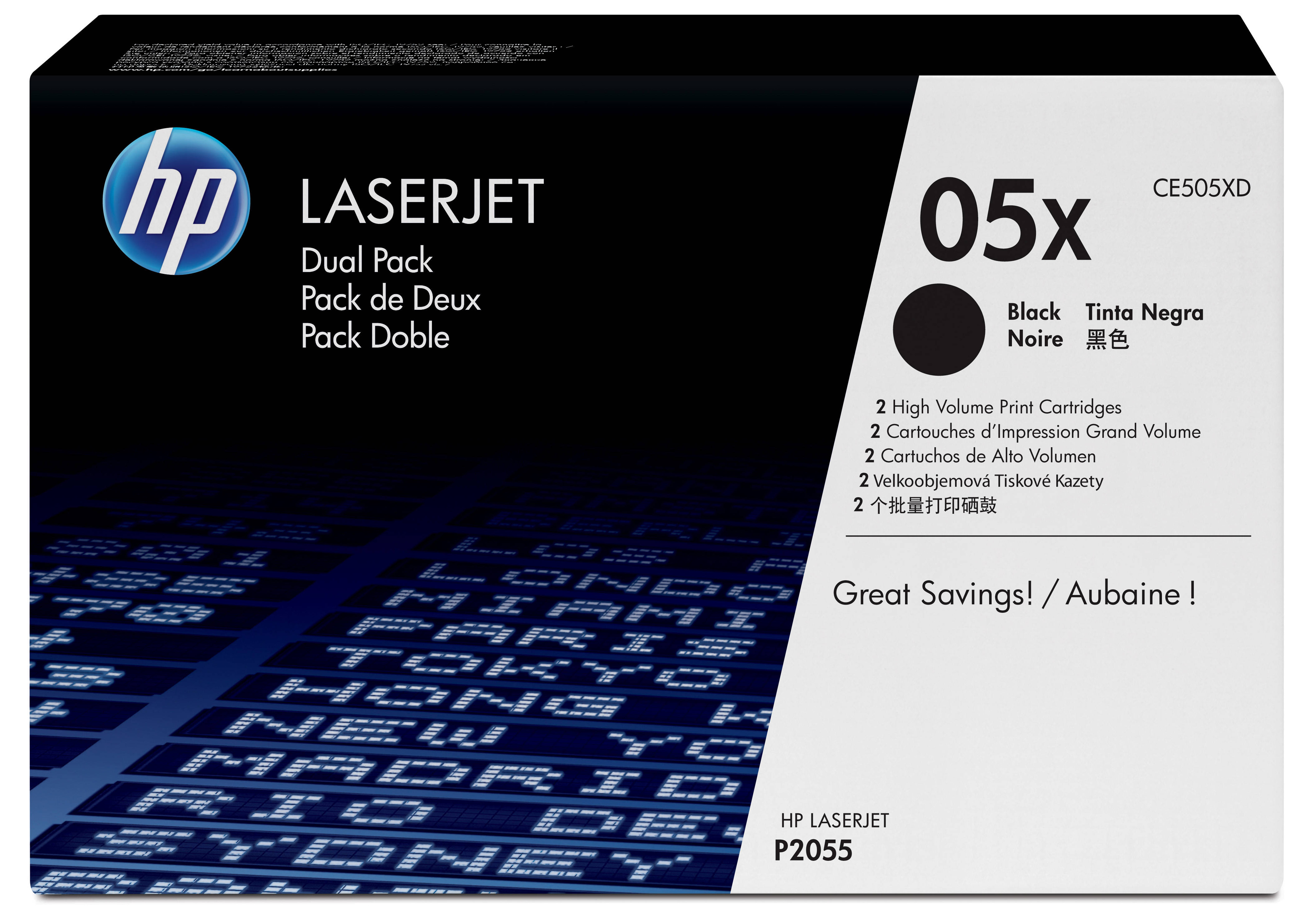 Ce505xd HP Hp Ce505x Dual Pack - AD01