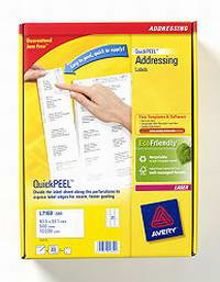 L7160-500 avery Avery Quickpeel Address Label 63x38mm L7160-500 (5250labels) - AD01