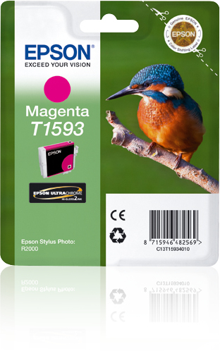 C13t15934010 epson Epson R2000 Magenta Ink Cartridge - AD01