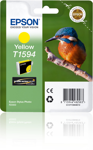 C13t15944010 epson Epson R2000 Yellow Ink Cartridge - AD01