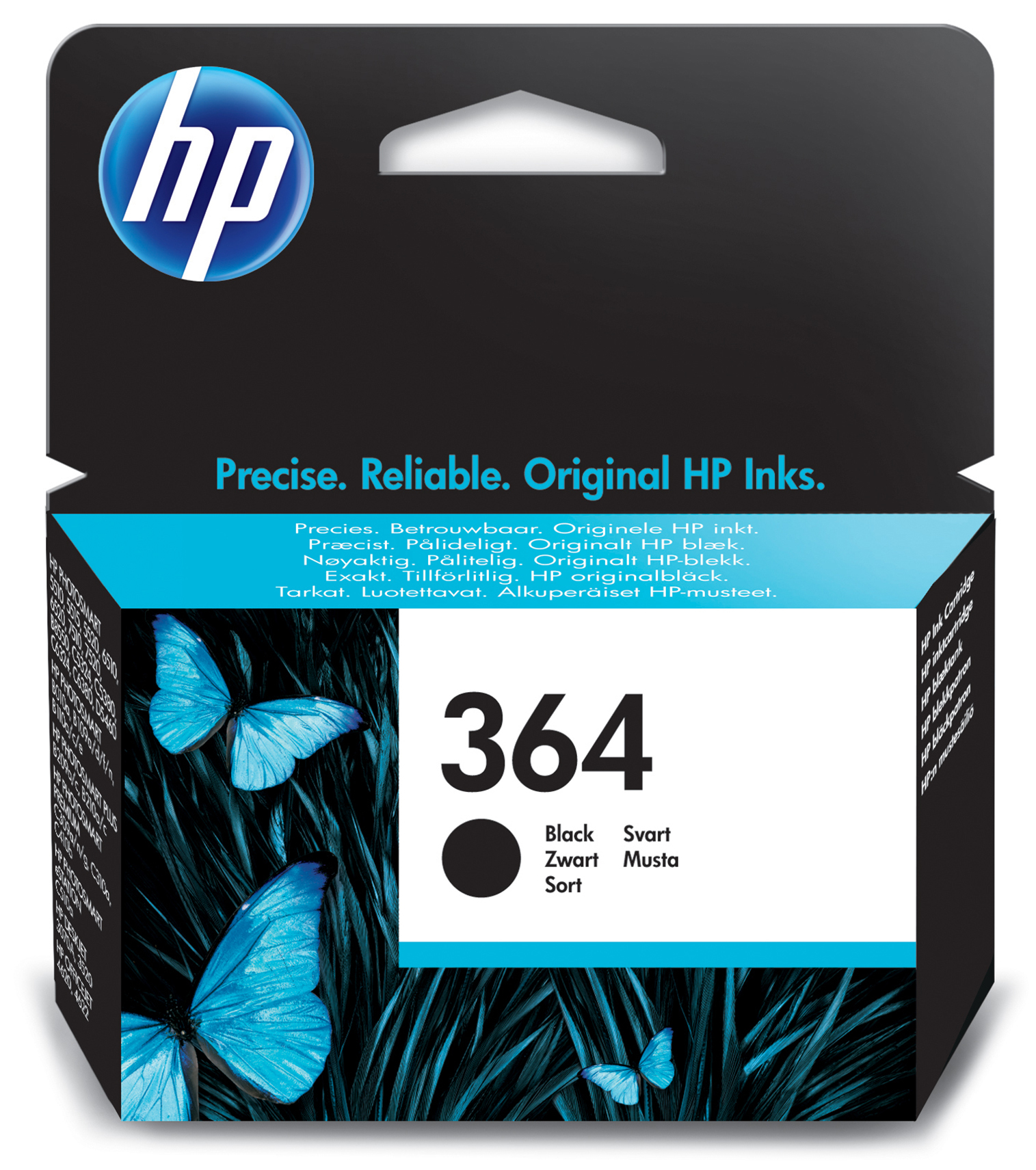 Cb316ee HP Hp No.364 Black Ink Cartridge - AD01