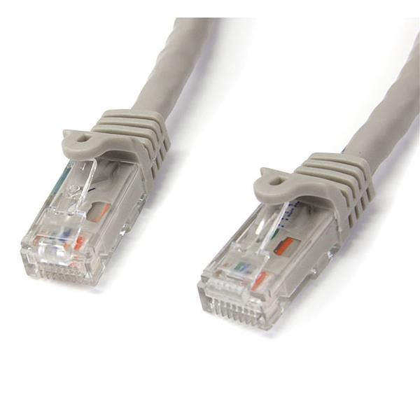 N6patch75gr Startech.com Grey Gigabit Snagless Rj45 Utp Cat6 Patch Cable Patch Cord (22.86m) - Ent01