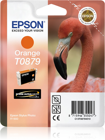 C13t08794010 epson Spr 1900 Orange Ink Cart - AD01