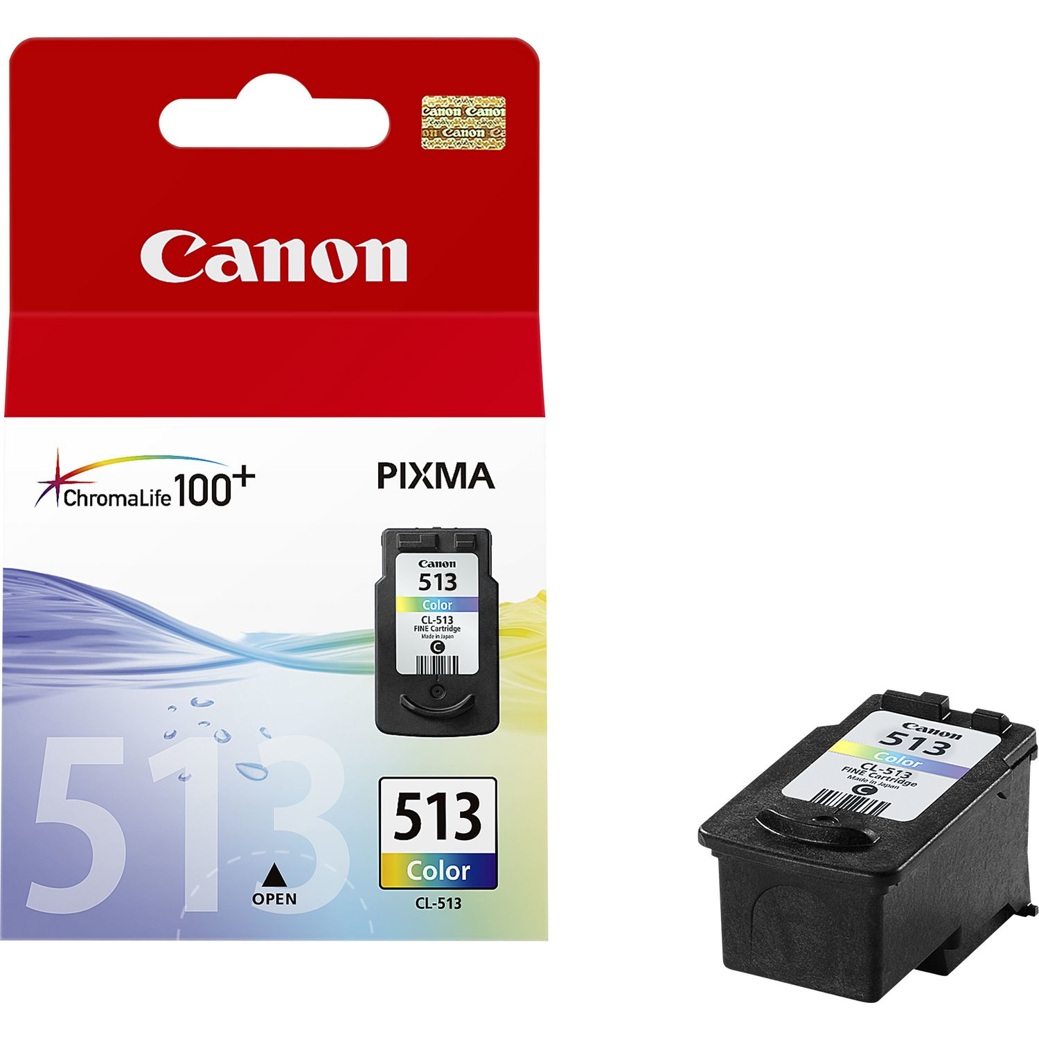 Cancl-513      Canon Cl-513 Colour Ink        Cl513 Colour Ink                                             - UF01