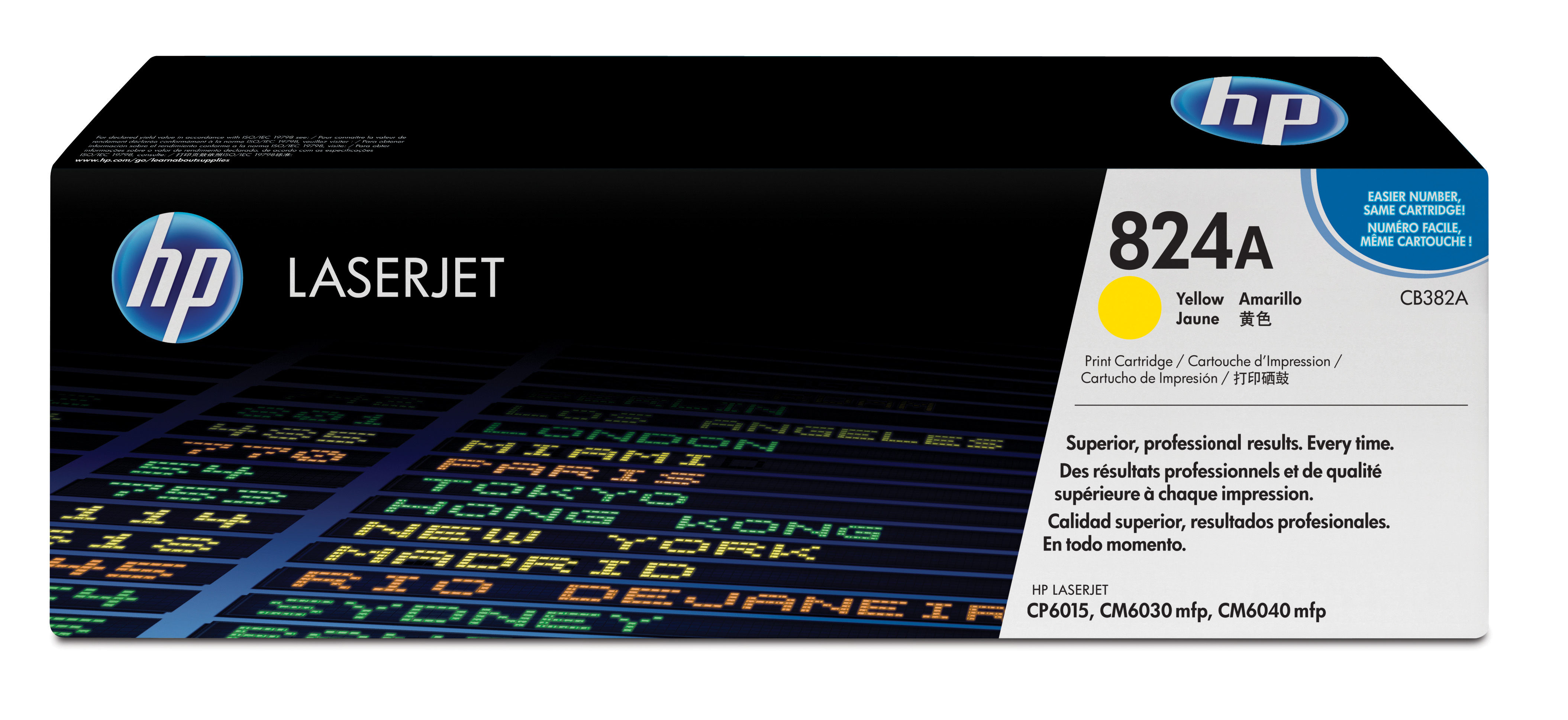 Cb382a HP Hp Cp6015 Yellow Toner Cartridge - AD01