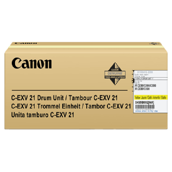 0459b002ba Canon Irc2880 Yellow Drum Exv21 - AD01