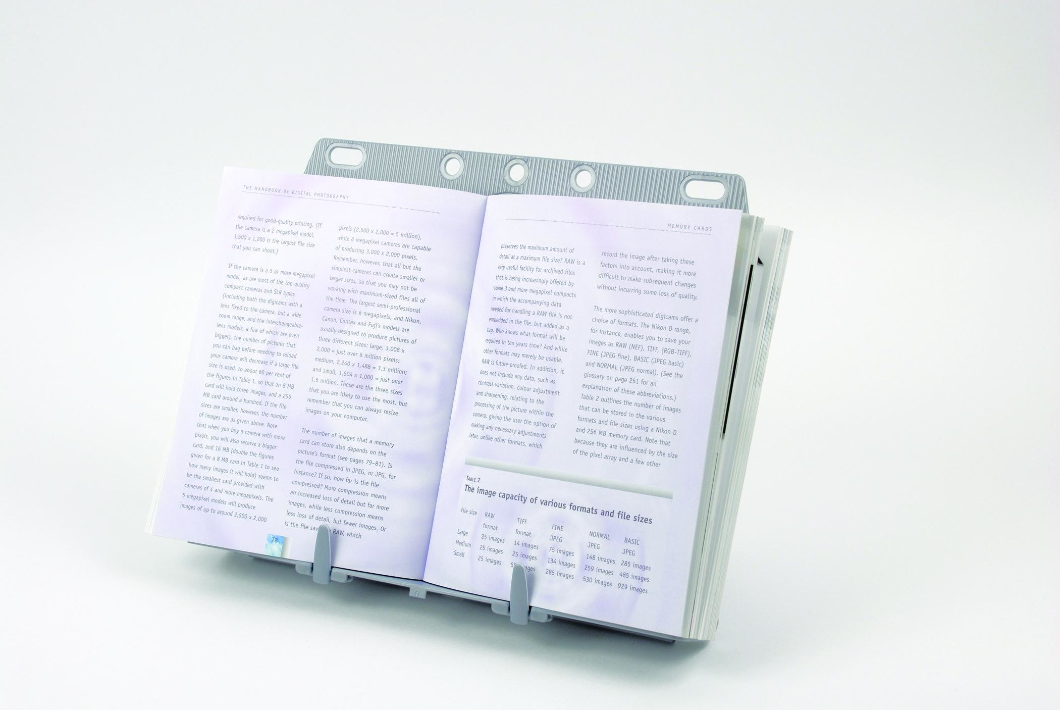 21140 fellowes Fellowes Booklift Copyholder Silver 21140 - AD01