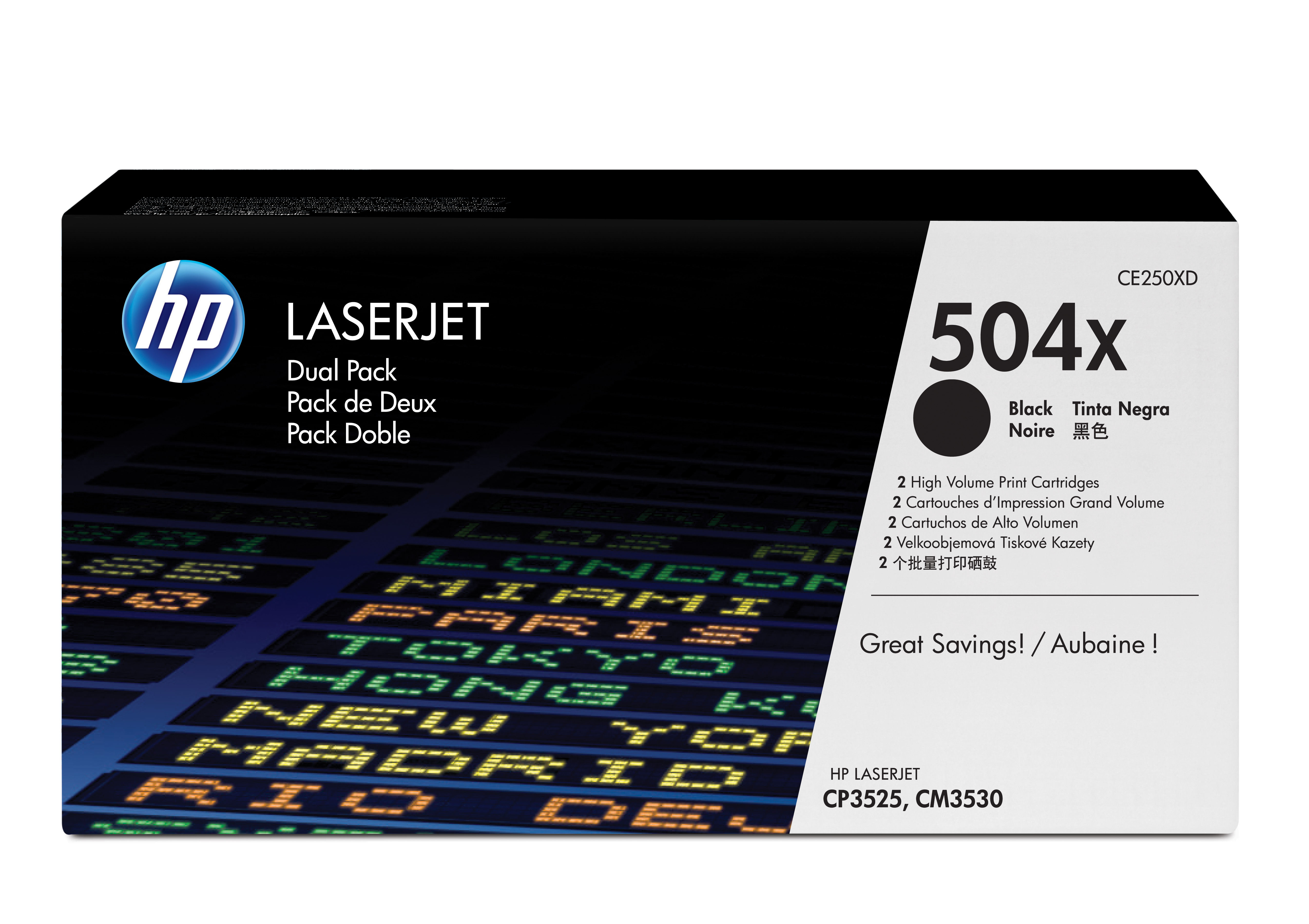 Ce250xd HP Hp 504x Dual Pack - AD01