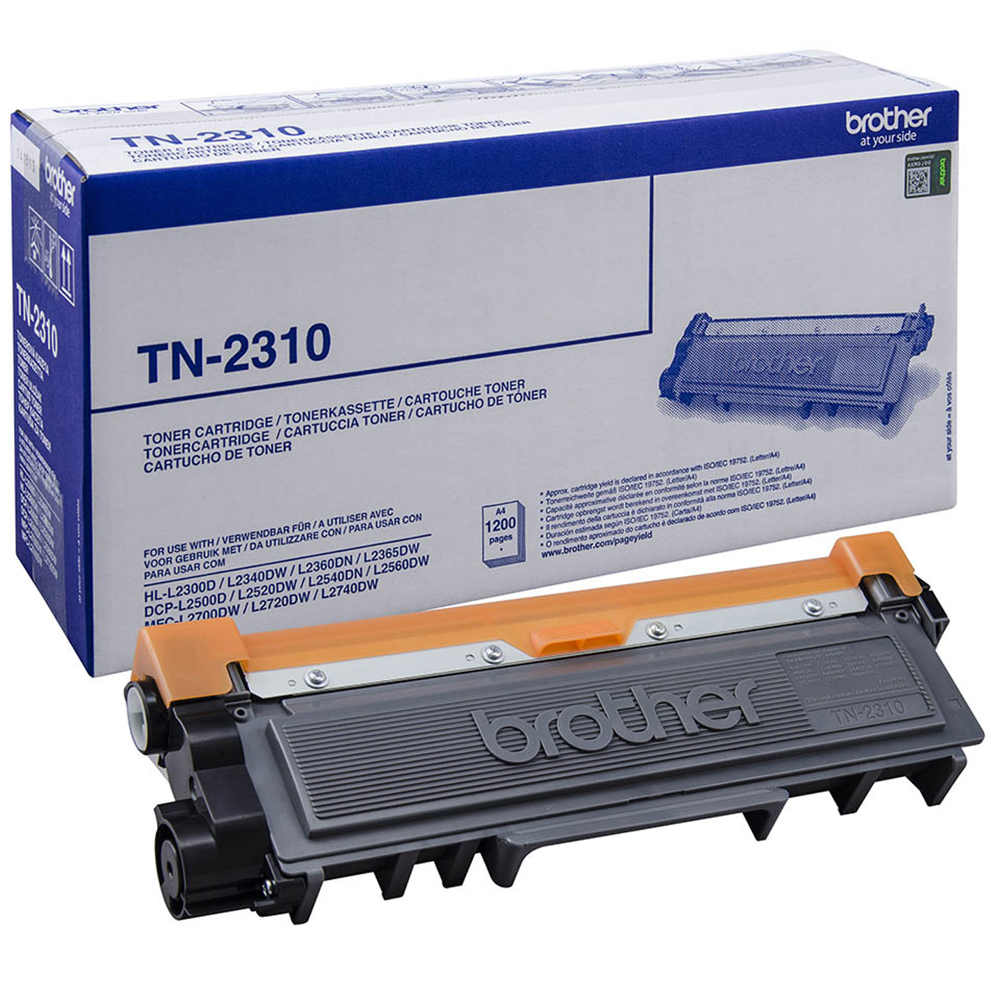 Tn2310 brother Black Standard Yield Toner 1.2k - AD01