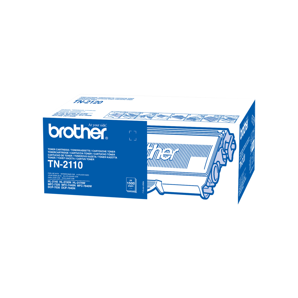 Tn2110 brother Hl2140 Standard Toner 1.5k - AD01