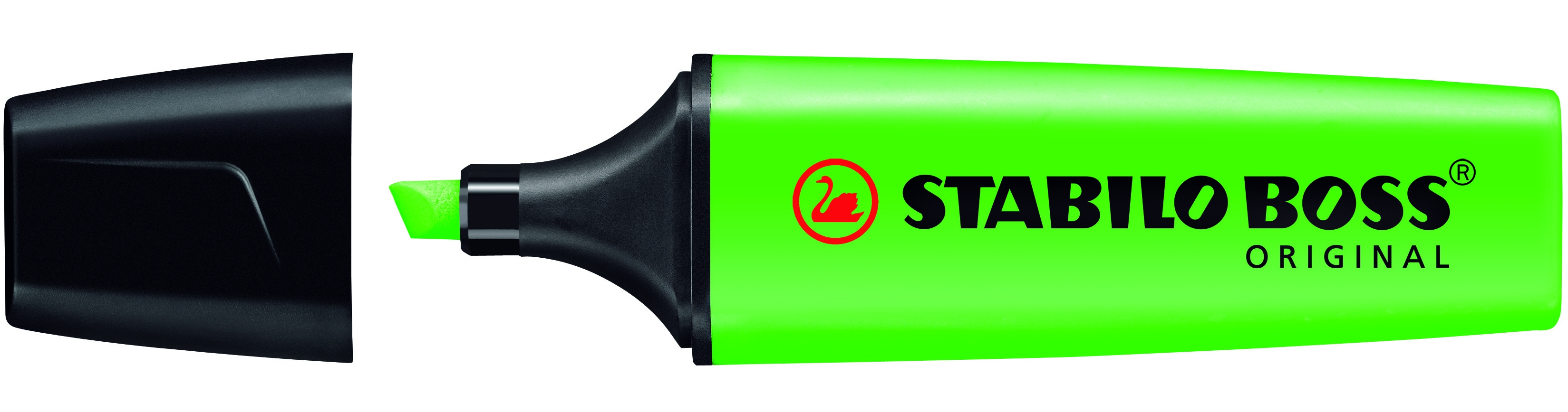 70/33 stabilo Stabilo Boss Highlighter Green 70/33 - (pk10) - AD01