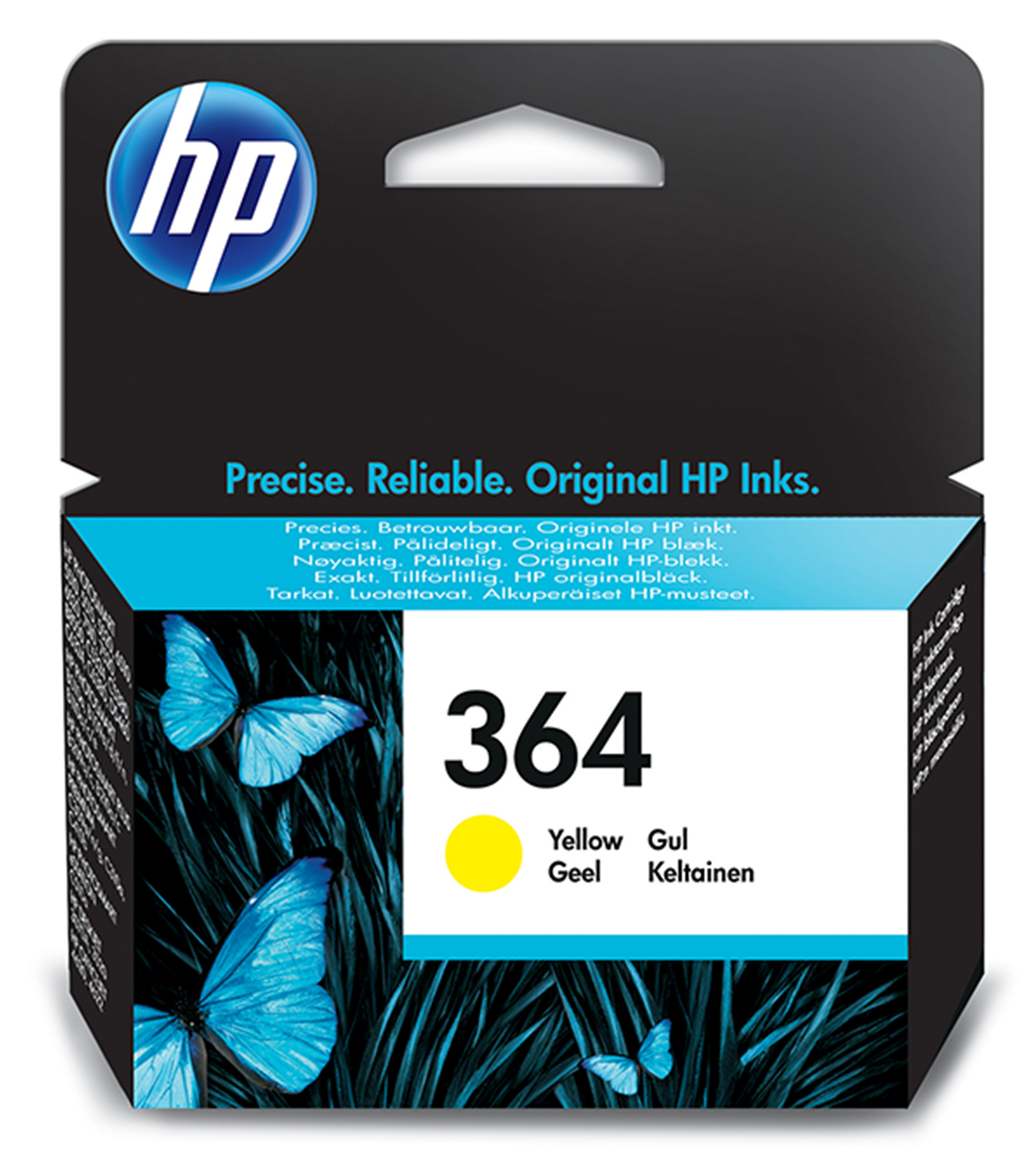 Cb320ee HP Hp No.364 Yellow Ink Cartridge - AD01