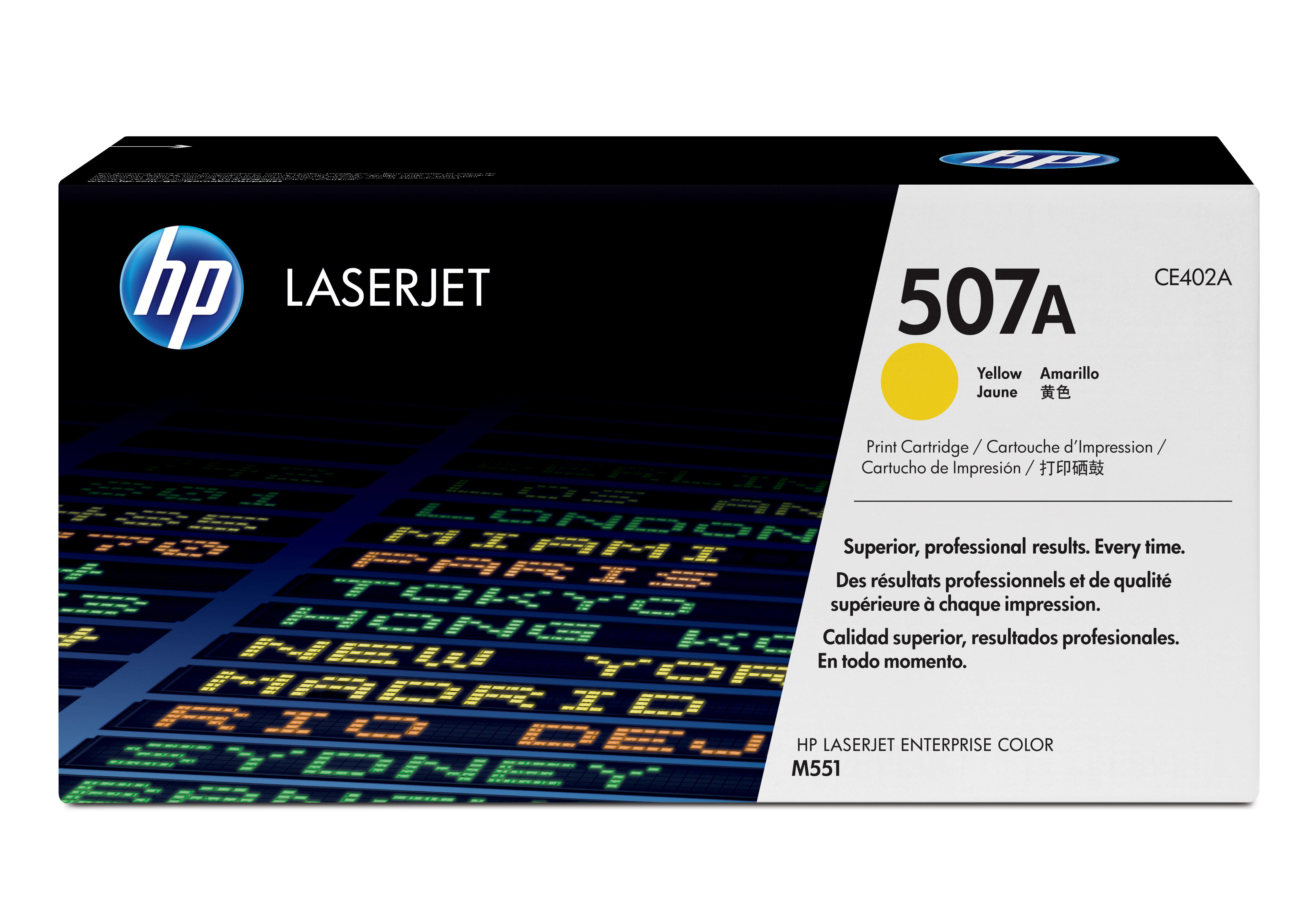 Ce402a HP Hp Yellow Toner Cartridge 507a - AD01