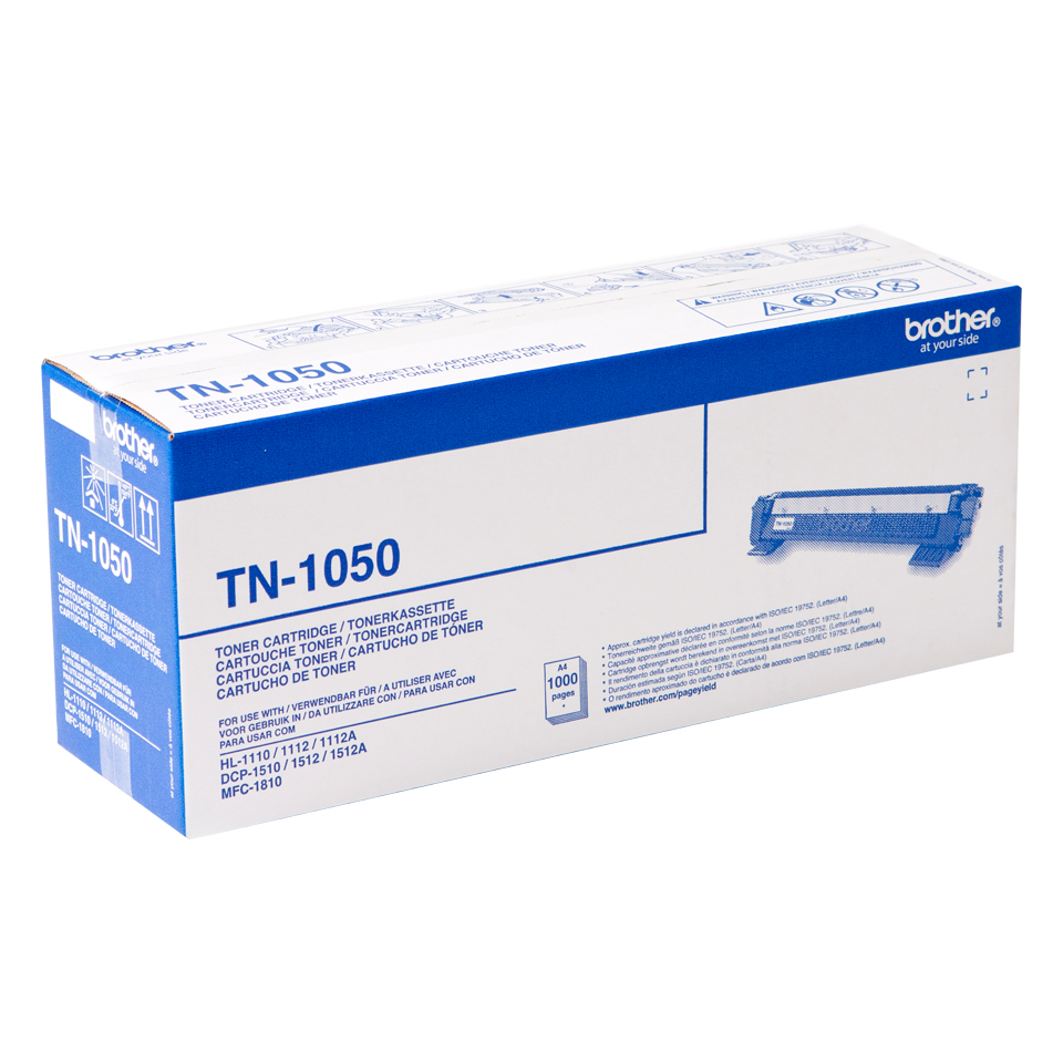 Tn1050 brother Hl1110/dpc1510/mfc1810 Black Toner - AD01