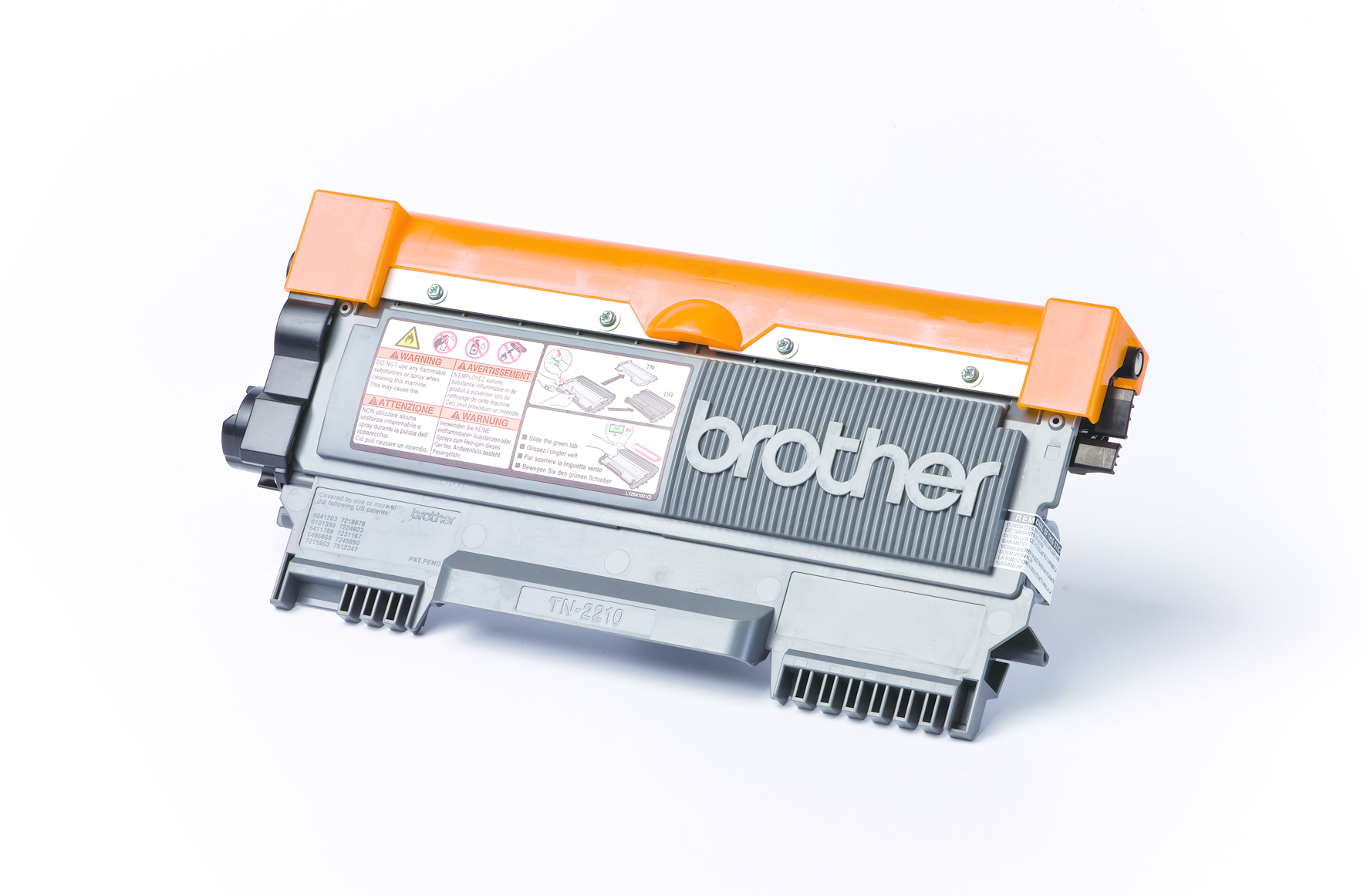 Tn2210 brother Std Black Toner 1.2k - AD01