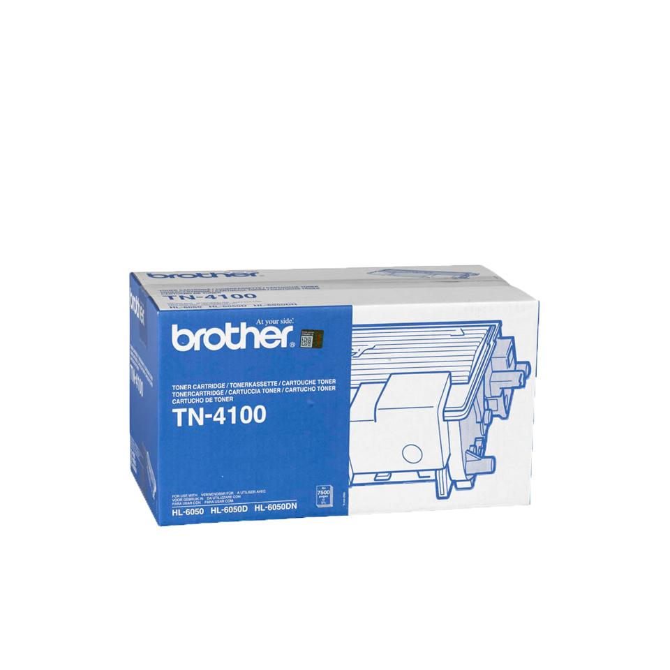 Tn4100 brother Black Toner Hl6050 7.5k - AD01