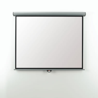 EEV20W Metroplan Eyeline Screen - Electric - Video Format - 200cm (w) - Wall/ceiling Screen - Easy To Install With The Unique 'click On - Click Off' Fixing Brackets - Motor And 3m Cable On Le - C2000