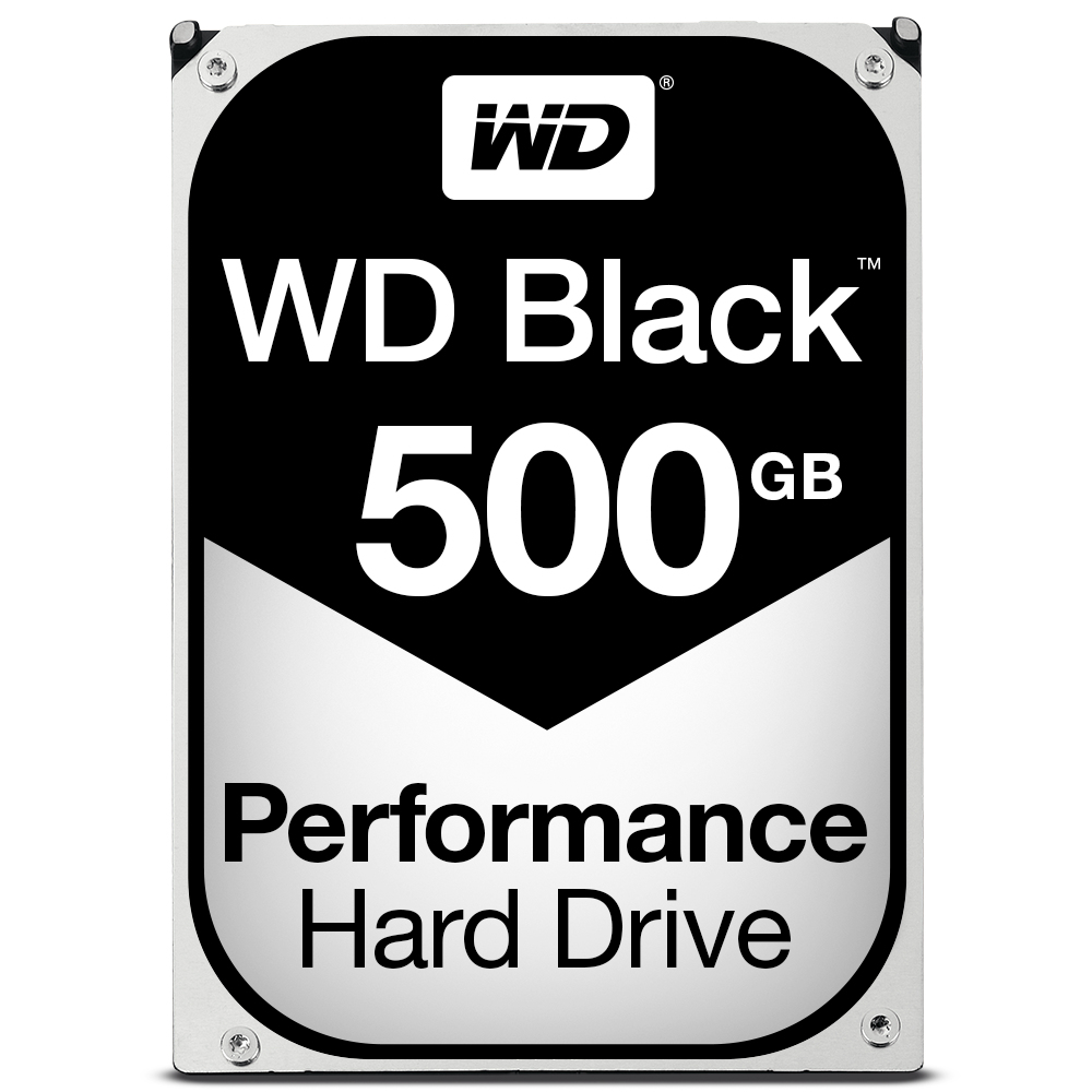 "WD5003AZEX Western Digital WD Black WD5003AZEX - Hard Drive - 500 GB - Internal - 3.5"" - SATA 6Gb/s - 7200 Rpm - Buffer: 64 MB - C2000"