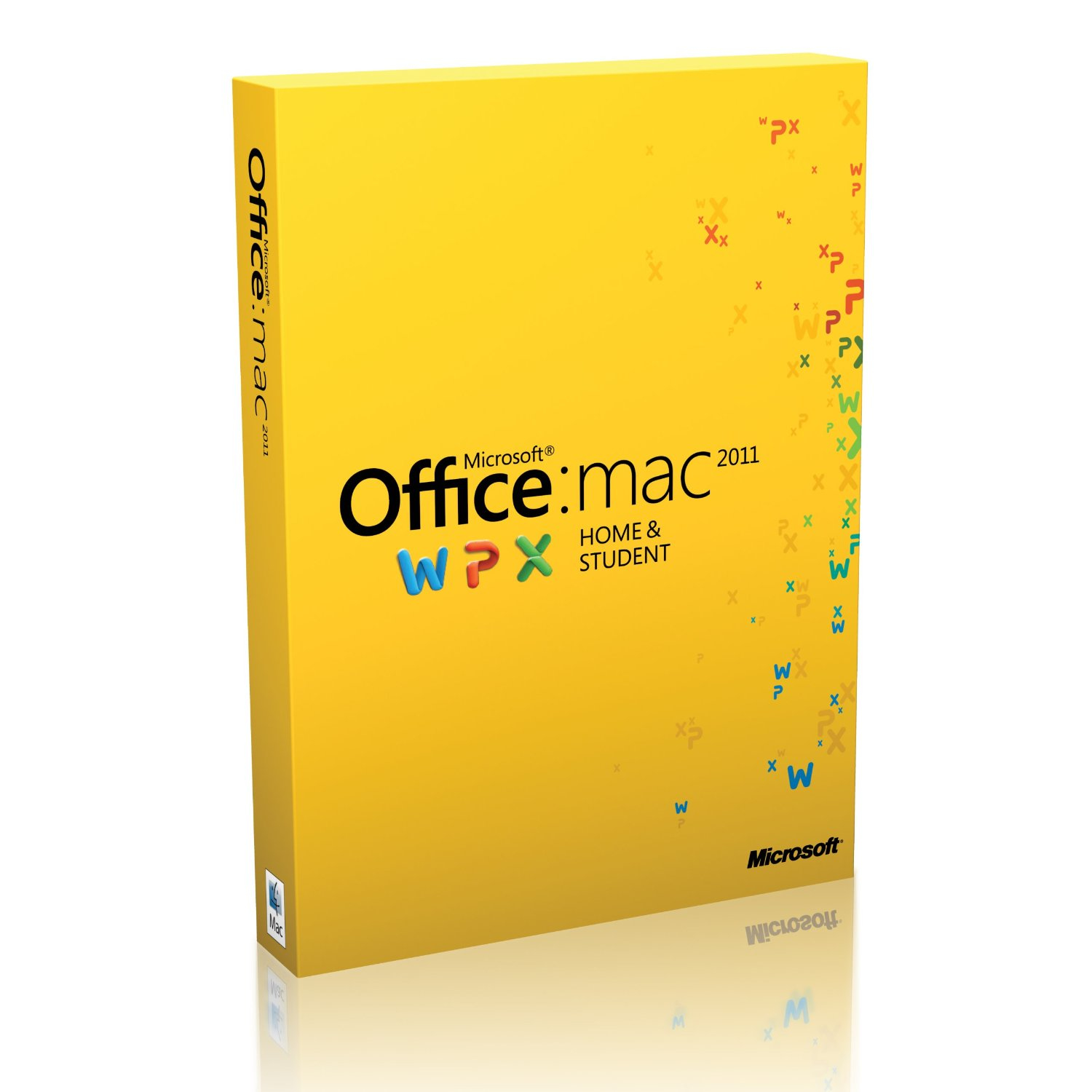 GZA-00269 Microsoft Office Mac Home Student 2011 English Eurozone Medialess - C2000