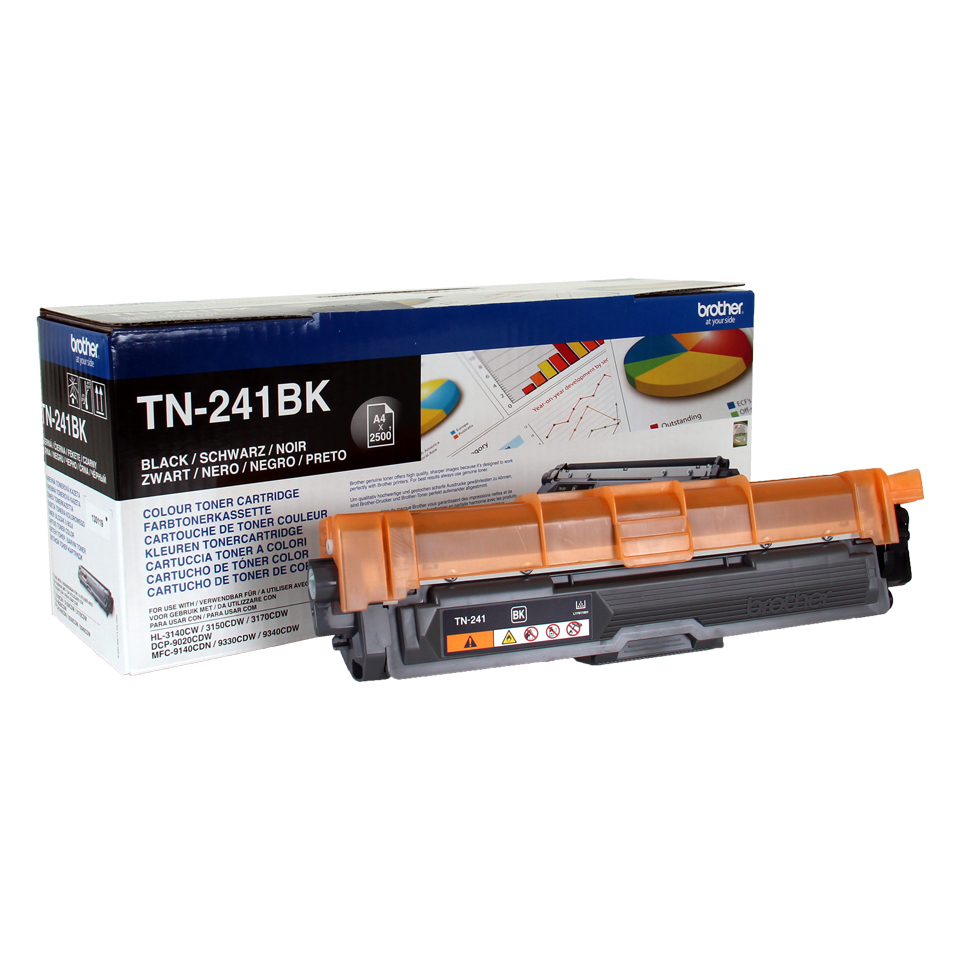 Tn241bk Brother Tn241bk Black Toner Cart - WC01